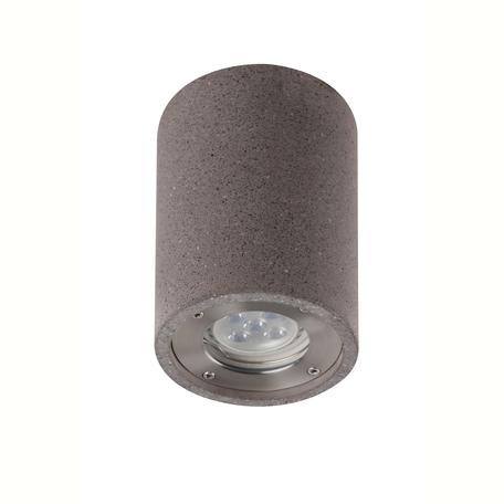 Потолочный светильник Mantra Levi 7185, IP65, 1xGU10x12W, серый, бетон