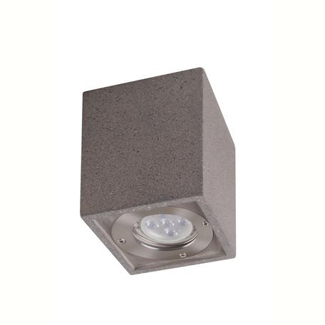 Потолочный светильник Mantra Levi 7187, IP65, 1xGU10x12W, серый, бетон