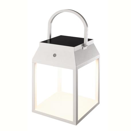 Садовый светодиодный светильник Mantra Sapporo 7091, IP54, LED 3W 3000K 238lm CRI80, белый, металл