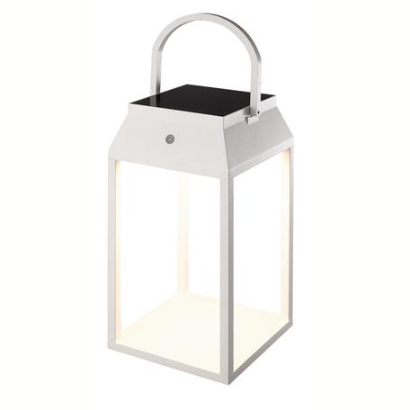 Садовый светодиодный светильник Mantra Sapporo 7093, IP54, LED 3W 3000K 238lm CRI80, белый, металл