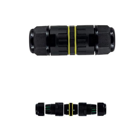 Соединитель Mantra TU0662, IP68, черный
