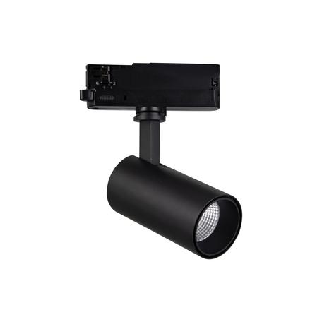 Светодиодный светильник с регулировкой направления света для шинной системы Mantra Fiji 7213, LED 20W 4000K 2200lm CRI80, черный, металл