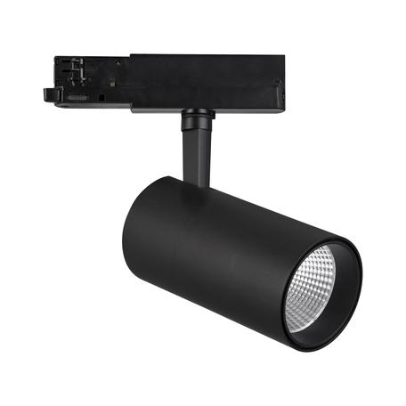 Светодиодный светильник с регулировкой направления света для шинной системы Mantra Fiji 7215, LED 40W 4000K 4400lm CRI80, черный, металл