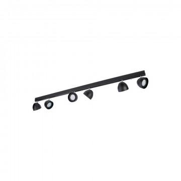 Потолочный светильник Nowodvorski Vespa 8842, 6xGU10x75W, черный, металл
