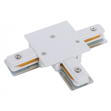 T-образный соединитель питания для треков Nowodvorski Profile 8834, белый, пластик