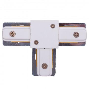T-образный соединитель питания для треков Nowodvorski Profile 9187, белый, пластик