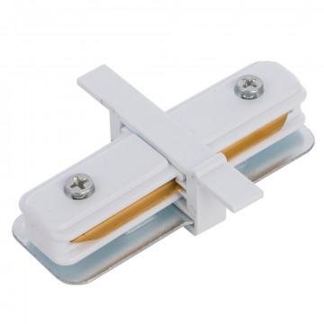 Внутренний прямой соединитель питания для треков Nowodvorski Profile 8967, белый, пластик