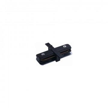 Внутренний прямой соединитель питания для треков Nowodvorski Profile 8968, черный, пластик