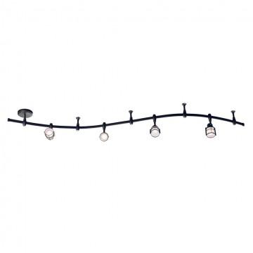 Гибкая система освещения Citilux Реймс CL563141, 4xE14x60W, венге, металл, металл со стеклом - миниатюра 3