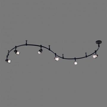 Гибкая система освещения Citilux Реймс CL563161, 6xE14x60W, венге, металл, металл со стеклом - миниатюра 3