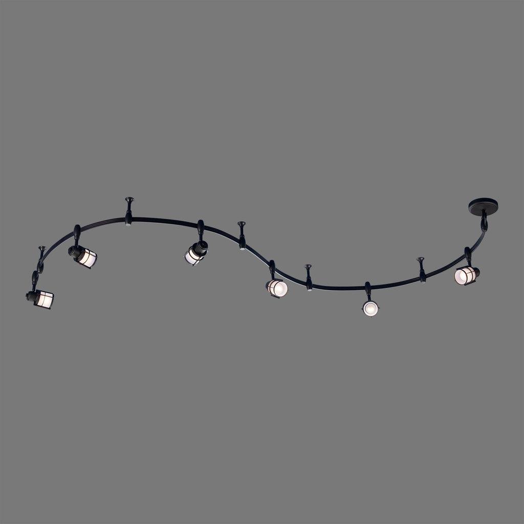 Гибкая система освещения Citilux Реймс CL563161, 6xE14x60W, венге, металл, металл со стеклом - фото 3