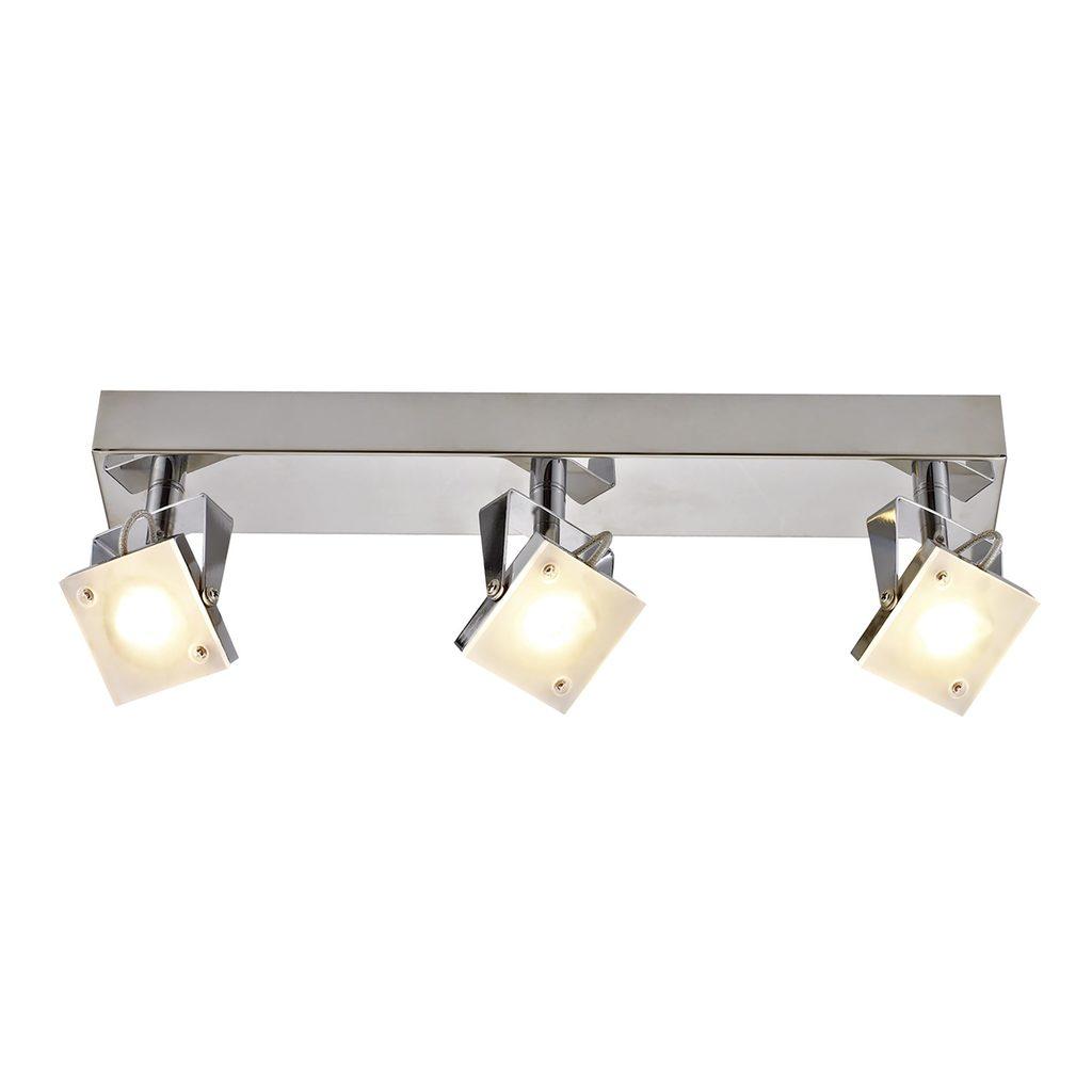 Настенный светодиодный светильник с регулировкой направления света Citilux Кода CL551531 3000K (теплый), хром, белый, металл, стекло - фото 1