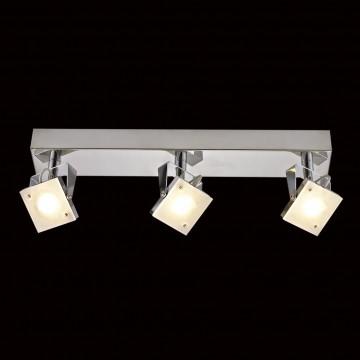 Настенный светодиодный светильник с регулировкой направления света Citilux Кода CL551531 3000K (теплый), хром, белый, металл, стекло - миниатюра 2