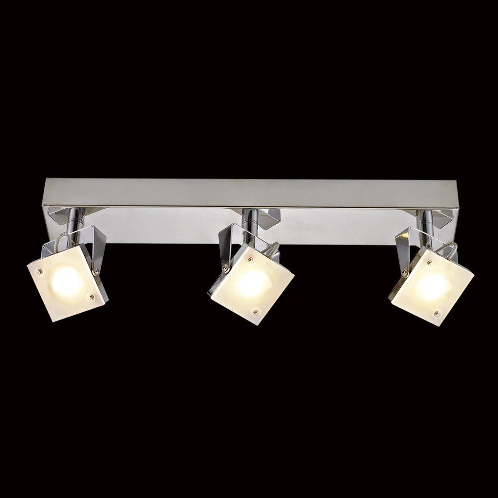Настенный светодиодный светильник с регулировкой направления света Citilux Кода CL551531 3000K (теплый), хром, белый, металл, стекло - фото 2