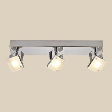 Настенный светодиодный светильник с регулировкой направления света Citilux Кода CL551531 3000K (теплый), хром, белый, металл, стекло - миниатюра 3