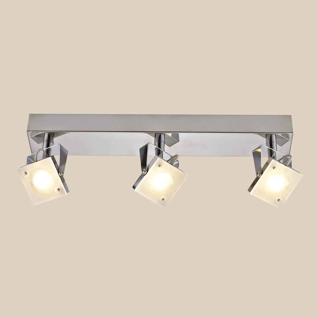 Настенный светодиодный светильник с регулировкой направления света Citilux Кода CL551531 3000K (теплый), хром, белый, металл, стекло - фото 3