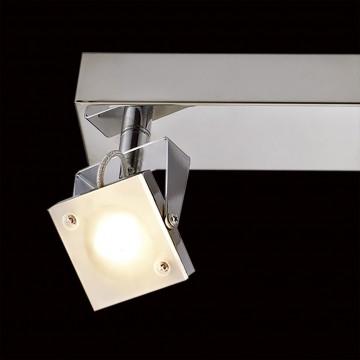 Настенный светодиодный светильник с регулировкой направления света Citilux Кода CL551531 3000K (теплый), хром, белый, металл, стекло - миниатюра 4