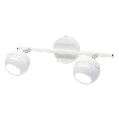 Настенный светодиодный светильник с регулировкой направления света Citilux Раймонд CL555520, LED 10W 3000K 750lm, белый, металл
