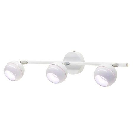 Настенный светодиодный светильник с регулировкой направления света Citilux Раймонд CL555530, LED 15W 3000K 1125lm, белый, металл