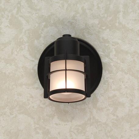 Настенный светильник с регулировкой направления света Citilux Реймс CL563511, 1xE14x60W, венге, металл, металл со стеклом