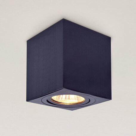 Потолочный светильник Citilux Дюрен CL538212, 1xGU10x50W, черный, металл