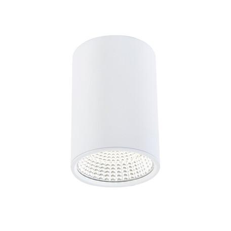 Потолочный светодиодный светильник Citilux Стамп CL558100, 3000K (теплый), белый, металл