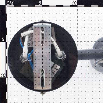 Настенный светильник с регулировкой направления света Citilux Ринг CL525512, 1xGU10x50W, черный, металл - миниатюра 4