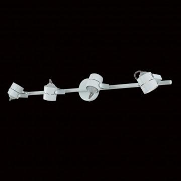 Настенный светильник с регулировкой направления света Citilux Ринг CL525540, 4xGU10x50W, белый, металл - миниатюра 2