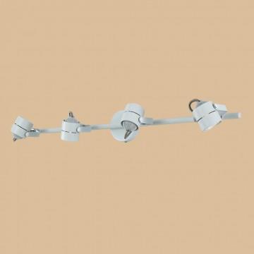 Настенный светильник с регулировкой направления света Citilux Ринг CL525540, 4xGU10x50W, белый, металл - миниатюра 3