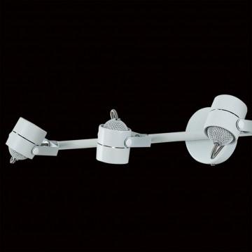 Настенный светильник с регулировкой направления света Citilux Ринг CL525540, 4xGU10x50W, белый, металл - миниатюра 4