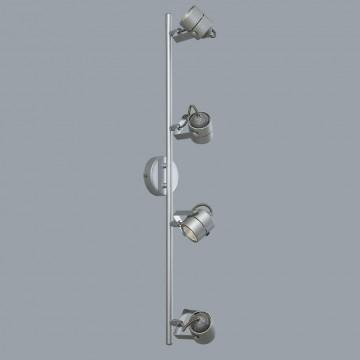 Потолочный светильник с регулировкой направления света Citilux Ринг CL525541, 4xGU10x50W, серебро, металл - миниатюра 3