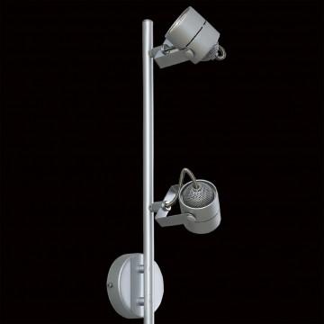 Потолочный светильник с регулировкой направления света Citilux Ринг CL525541, 4xGU10x50W, серебро, металл - миниатюра 4