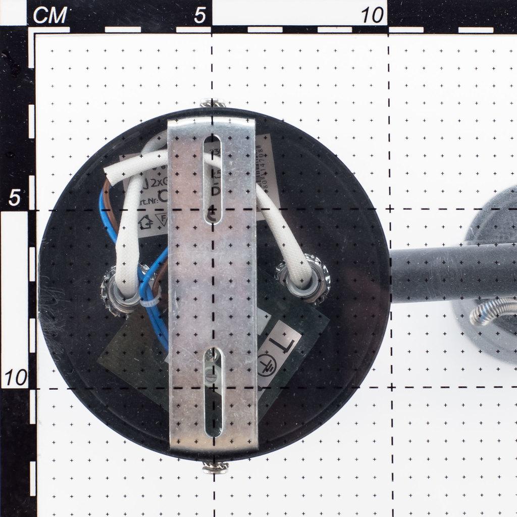 Потолочный светильник с регулировкой направления света Citilux Ринг CL525541, 4xGU10x50W, серебро, металл - фото 5