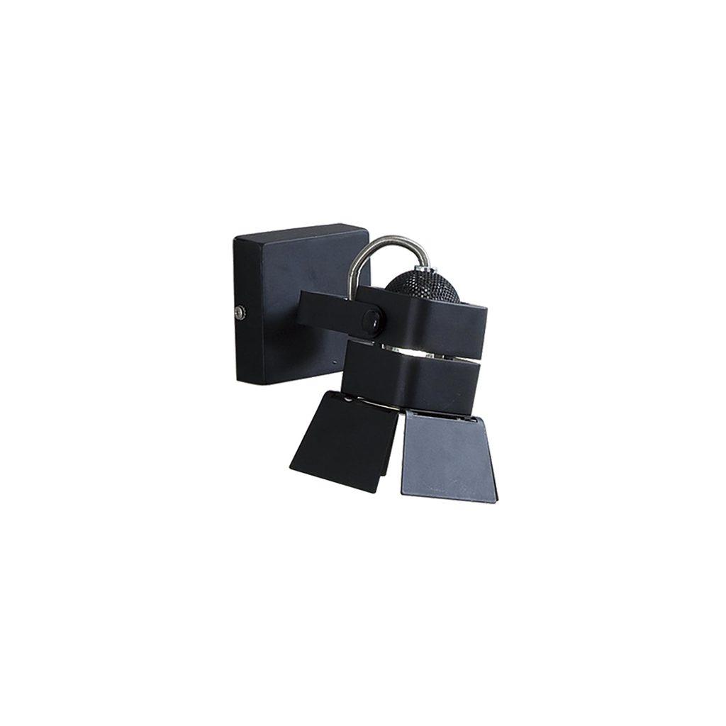 Потолочный светильник с регулировкой направления света Citilux Рубик CL526512S, 1xGU10x50W, черный, металл - фото 1