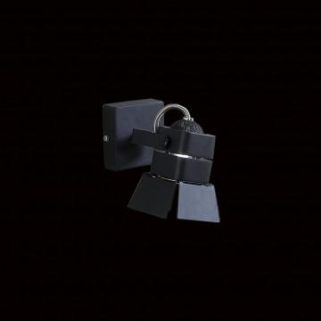 Потолочный светильник с регулировкой направления света Citilux Рубик CL526512S, 1xGU10x50W, черный, металл - миниатюра 2