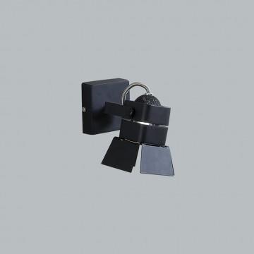 Потолочный светильник с регулировкой направления света Citilux Рубик CL526512S, 1xGU10x50W, черный, металл - миниатюра 3