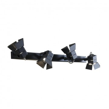 Потолочный светильник с регулировкой направления света Citilux Рубик CL526542S, 4xGU10x50W, черный, металл