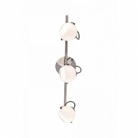 Потолочный светильник с регулировкой направления света Citilux Бланка CL531531, 3xG9x40W, хром, белый, металл, стекло