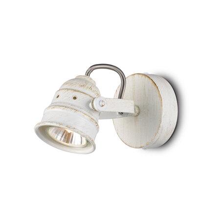 Настенный светильник с регулировкой направления света Citilux Веймар CL537512, 1xGU10x50W, белый с золотой патиной, металл