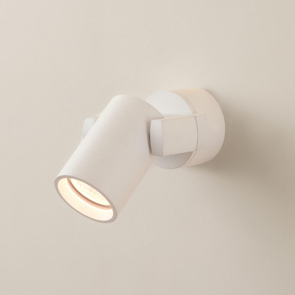 Настенный светильник с регулировкой направления света Citilux Дюрен CL538511, 1xGU10x50W, белый, металл - фото 1
