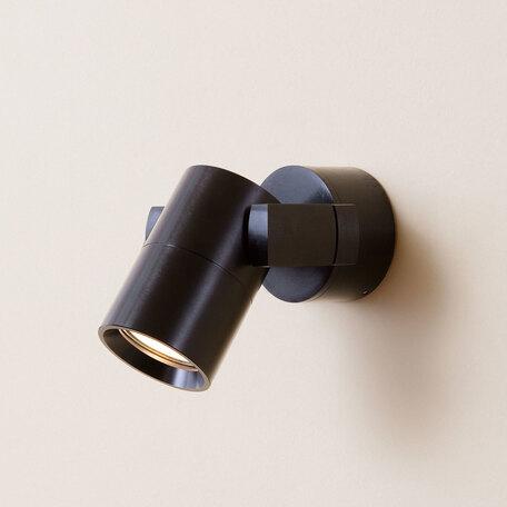 Настенный светильник с регулировкой направления света Citilux Дюрен CL538512, 1xGU10x50W, черный, металл