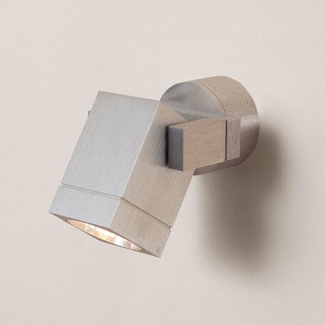 Настенный светильник с регулировкой направления света Citilux Дюрен CL538610, 1xGU10x50W, серебро, металл