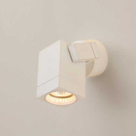 Настенный светильник с регулировкой направления света Citilux Дюрен CL538611, 1xGU10x50W, белый, металл