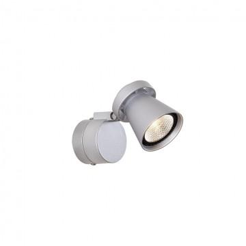 Потолочный светодиодный светильник с регулировкой направления света Citilux Дубль-1 CL556511 3000K (теплый), серебро, металл