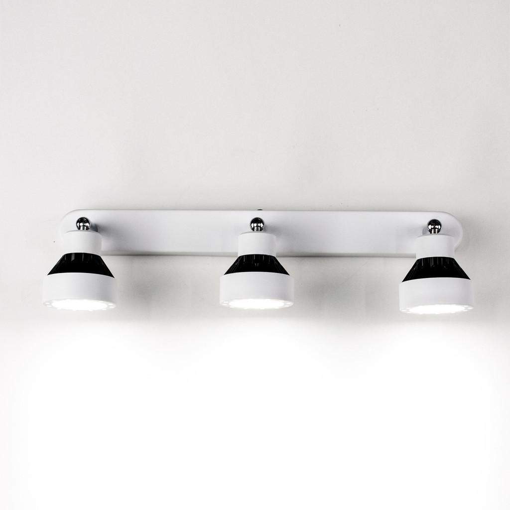 Настенный светодиодный светильник с регулировкой направления света Citilux Данди CL557531, LED 21W 3000K 1575lm, белый, хром, черный, металл - фото 5