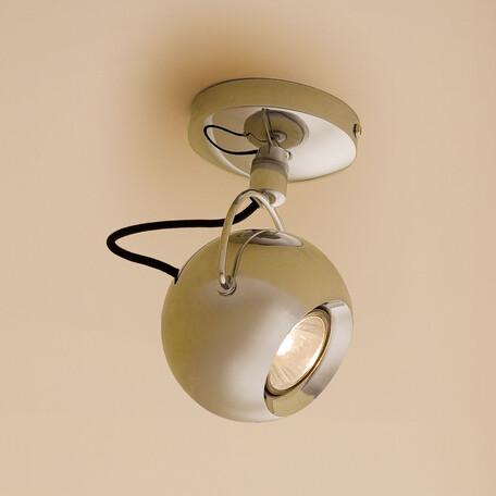 Потолочный светильник с регулировкой направления света Citilux Сфера CL532511, 1xGU10x50W, хром, металл