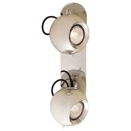 Потолочный светильник с регулировкой направления света Citilux Сфера CL532521, 2xGU10x50W, хром, металл - миниатюра 1