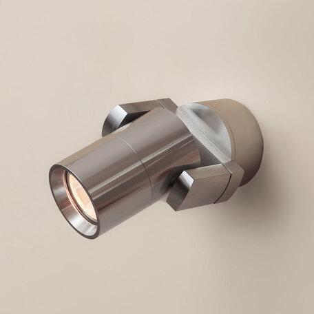 Настенный светильник с регулировкой направления света Citilux Дюрен CL538510, 1xGU10x50W, серебро, металл