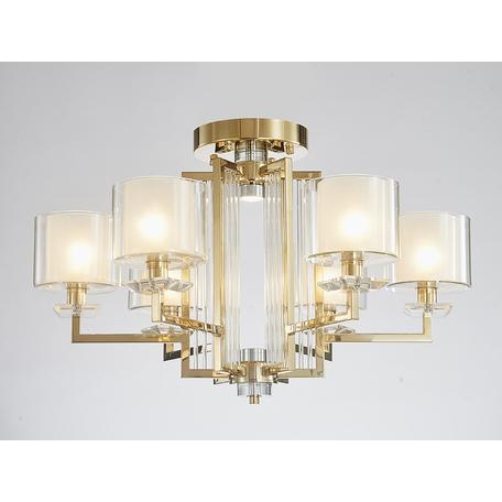 Светильник Newport 4400 4406/C gold (М0062630), 6xE14x60W + LED 10W
