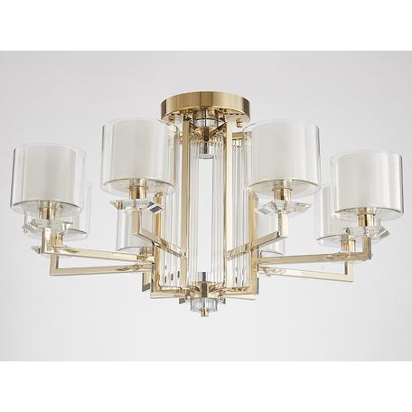 Светильник Newport 4400 4408/C gold (М0062631), 8xE14x60W + LED 10W